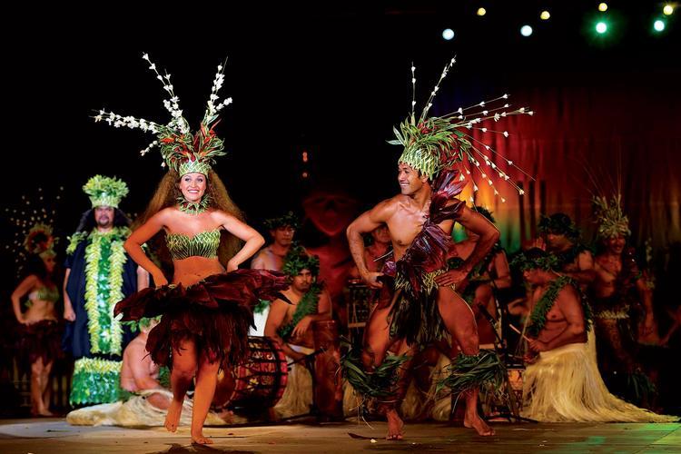 Moena Maiotui de la troupe Tahiti Ora ©G. Boissy