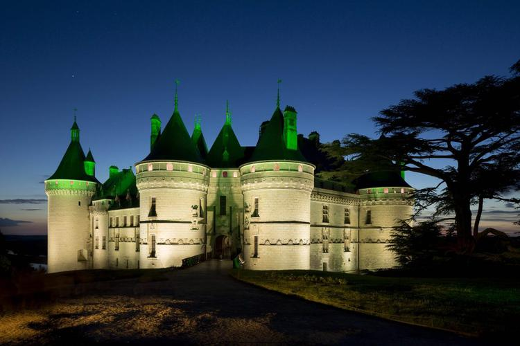 Chateau de Chaumont sur loire - illumiantion