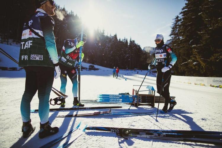 Delphine Claudel, ski de fond