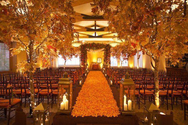 Organiza una boda mágica en invierno- Decoración de bodas para Navidad