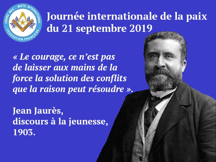 Communiqué du 21 septembre 2019 - PAIX