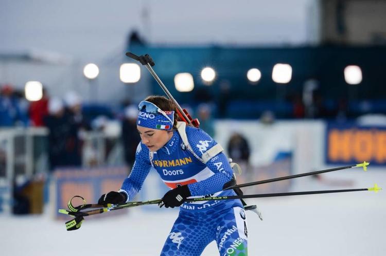 BIATHLON - L'Italienne Dorothea Wierer a dompté les éléments pour remporter son premier titre mondial sur la mass-start d'Östersund disputée dans le vent suédois.