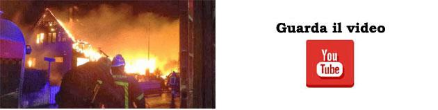 Incendio di edifici residenziali in Norvegia