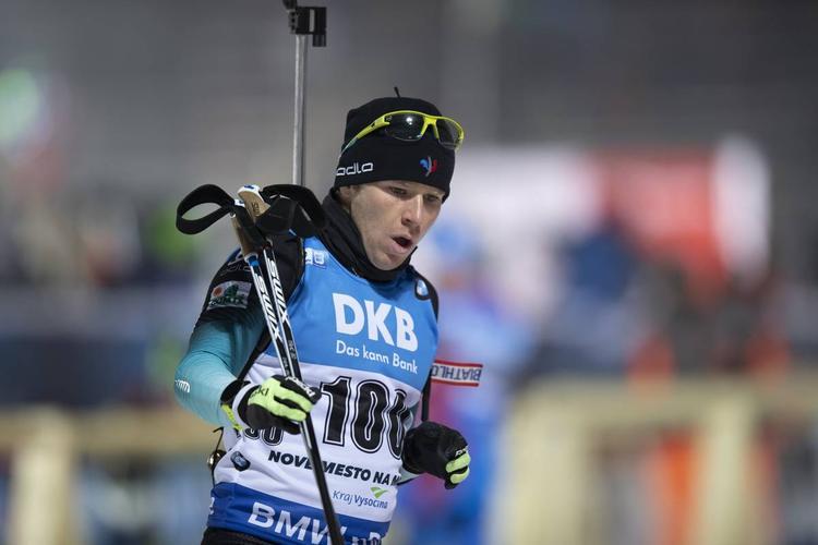 une, biathlon, coupe du monde, Nove Mesto, Aristide Bègue