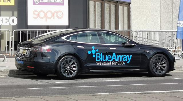 Blue Array SEO Tesla