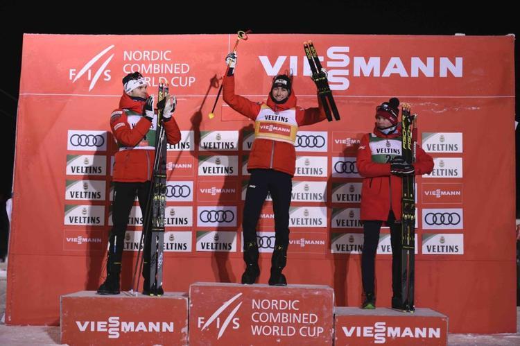 COMBINE NORDIQUE - Intouchable, Jarl Magnus Riiber a signé une troisième victoire en trois courses de coupe du monde à Ruka. Les Norvégiens signent même un triplé !