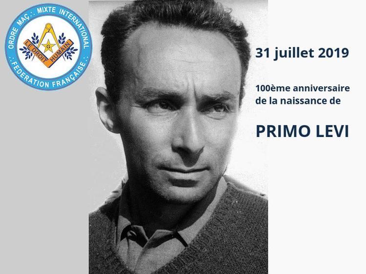 100ème anniversaire naissance de Primo LEVI