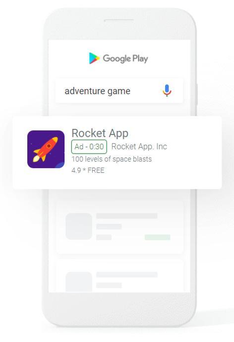 campanhas de aplicativos do google