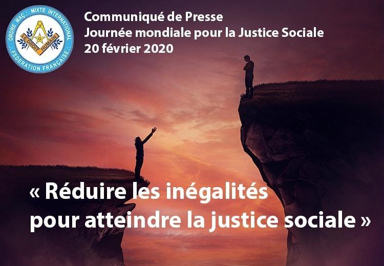 Justice Sociale 20 février 2020