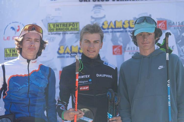 Lino Deloche, Loris Chevalier, Simon Clavel, ski-roues, rollerski, Challenge Vincent Vittoz, Challenge National Vincent Vittoz, Nordic Mag, nordicmag