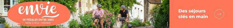 Envie de pédaler en région Centre-Val de Loire