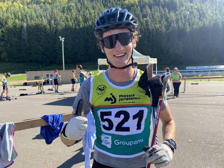 Mathis Desloges, rollerski, ski-roues, Challenge Vincent Vittoz, Nordic Mag, nordicmag