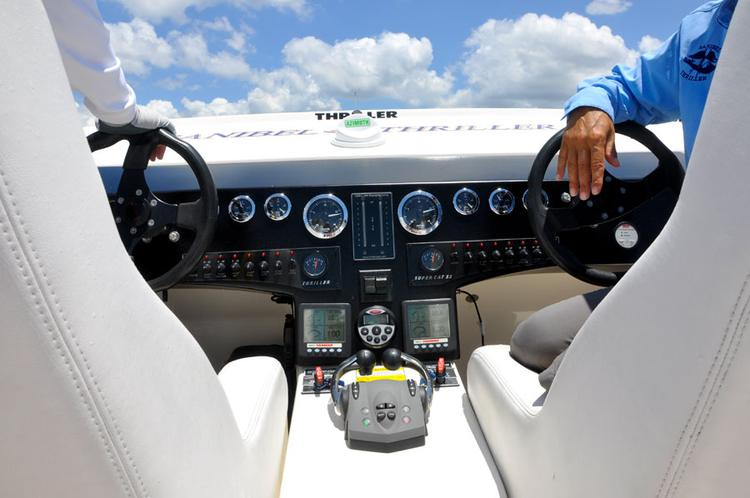 Sanibel Thriller eine tolle Boots Tour