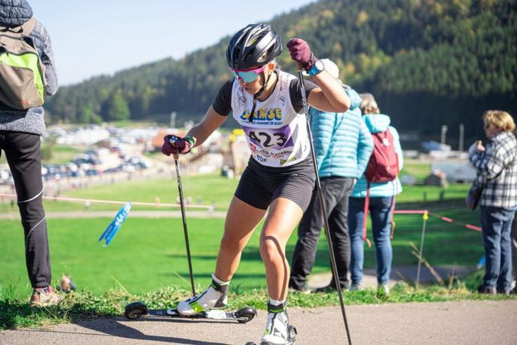 Coralie Bentz, ski-roues, rollerski, Challenge Vincent Vittoz, Challenge National Vincent Vittoz, Nordic Mag, nordicmag