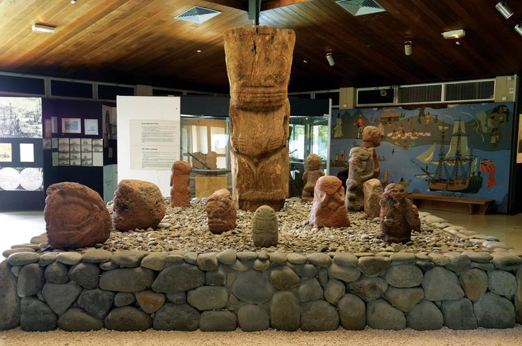 Collection de tikis, Musée de Tahiti et des îles.