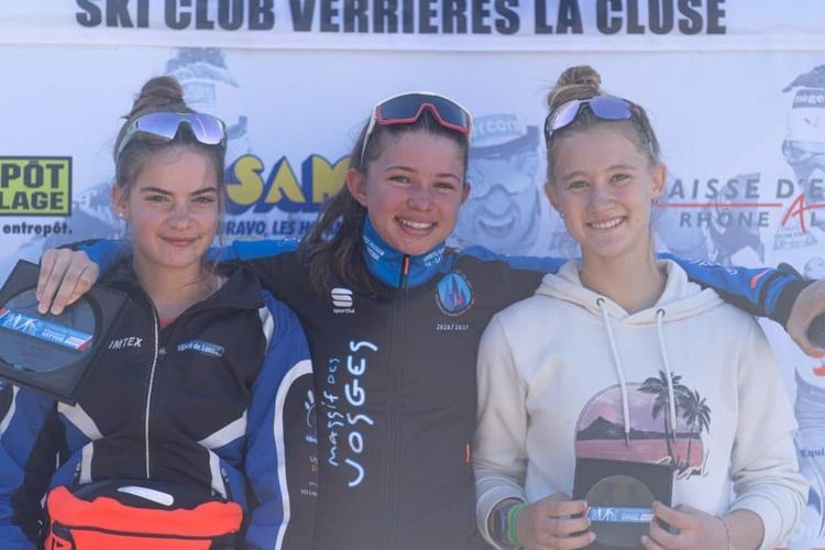 Adélie Langlais, Clara Vaxelaire, Marie Demor, ski-roues, rollerski, Challenge Vincent Vittoz, Challenge National Vincent Vittoz, Nordic Mag, nordicmag