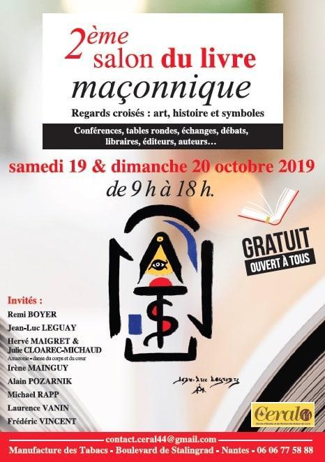 Salon du livre maçonnique de Nantes 2019