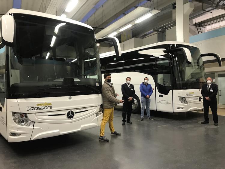 Voulaz consegna Mercedes-benz Tourismo 2020