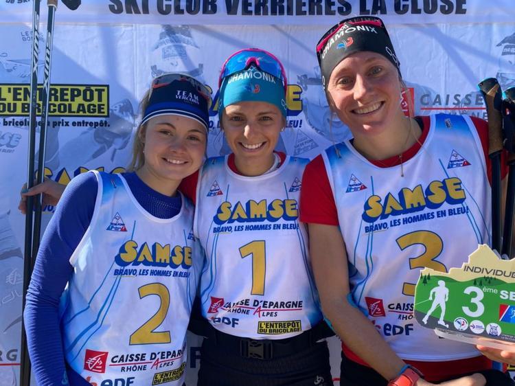Emilie Bulle, Coralie Bentz, Enora Latuillière, ski de fond, Arçon, Challenge Vincent Vittoz, Nordic Mag, nordicmag