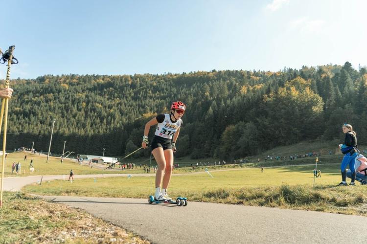 Julie Pierrel, ski-roues, rollerski, Challenge Vincent Vittoz, Challenge National Vincent Vittoz, Nordic Mag, nordicmag
