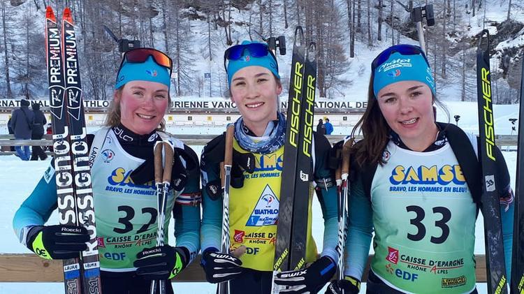 BIATHLON - La coupe de France / Samse National Tour de biathlon se terminait ce samedi après-midi avec la course dames U21-séniors. La dernière mass-start du jour a souri à Paula Botet qui conforte son maillot jaune !