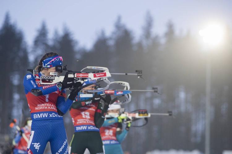 Une, biathlon, coupe du monde, Kontiolahti, montagne, Nordic Magazine,