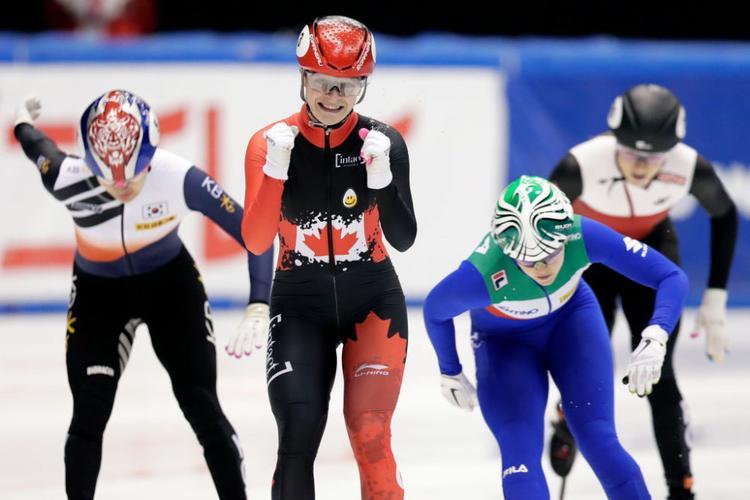 Kim Boutin, patinage de vitesse sur piste courte, short track