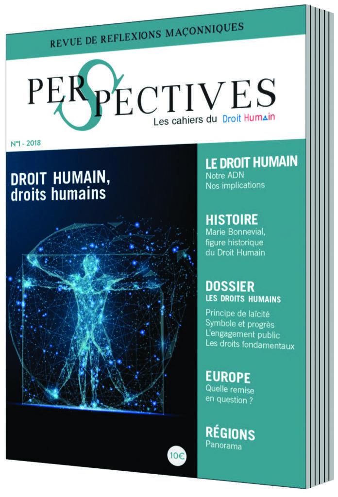 Perspectives n°1 DROIT HUMAIN, droits humains