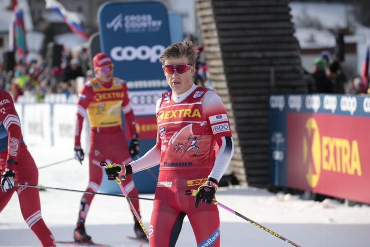 ski de fond, tour de ski, val di fiemme, Johannes Hoesflot Klaebo