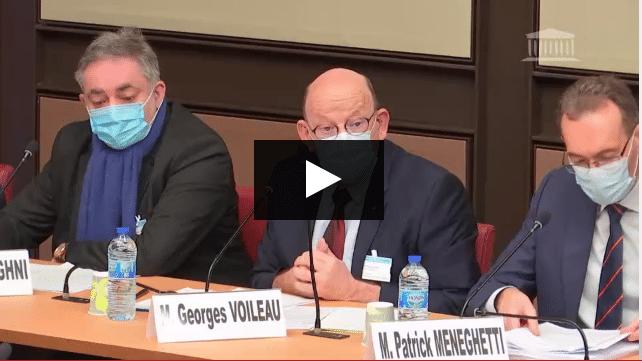 Georges Voileau -adution Assembéle Nationale - 5 janvier 2021