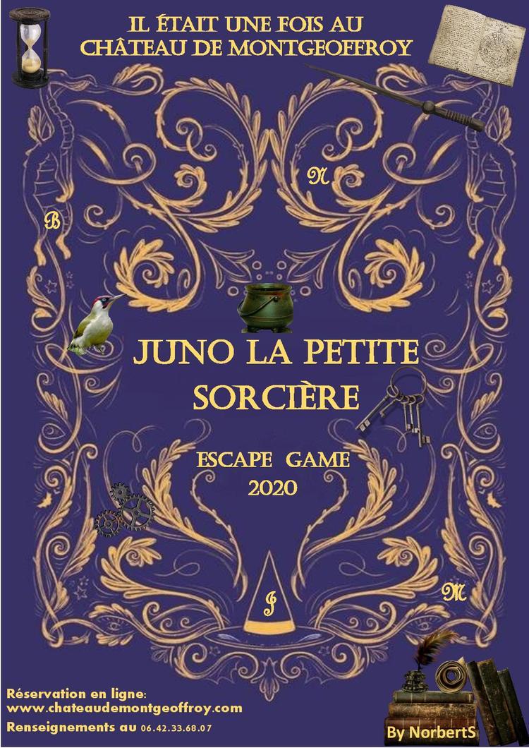 Escape game chateau de Montgeoffroy