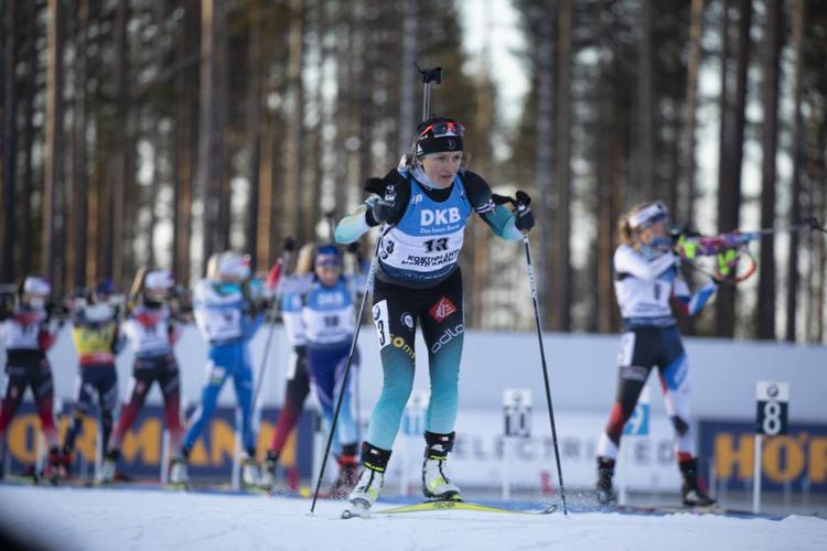 Célia Aymonier, biathlon