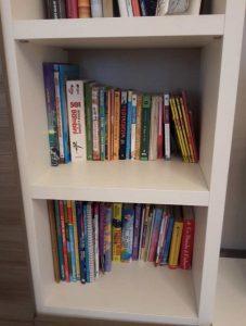 riordino libreria particolare