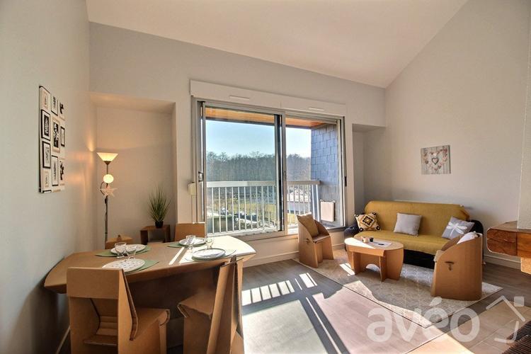 Séjour après prestation home-staging appartement Gouvieux Avéo Beauvais