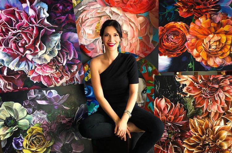 lockdown artist Jana Aspeling