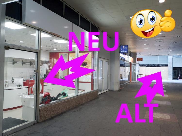 Neuer Laden neben dem alten