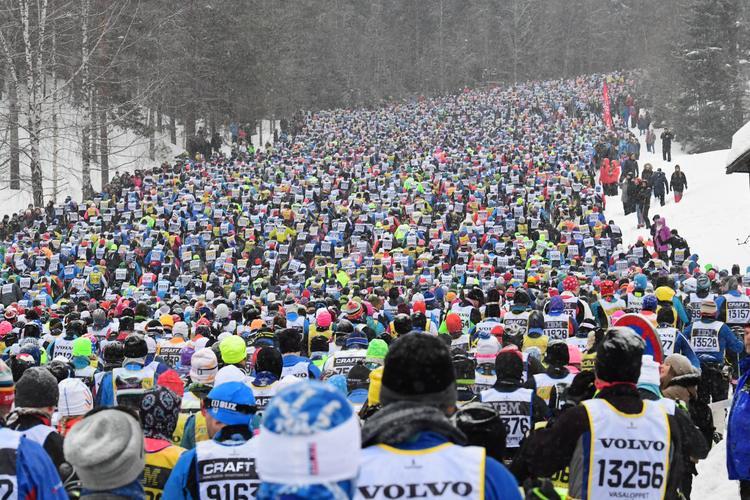 une, Vasaloppet, ski, ski de fond