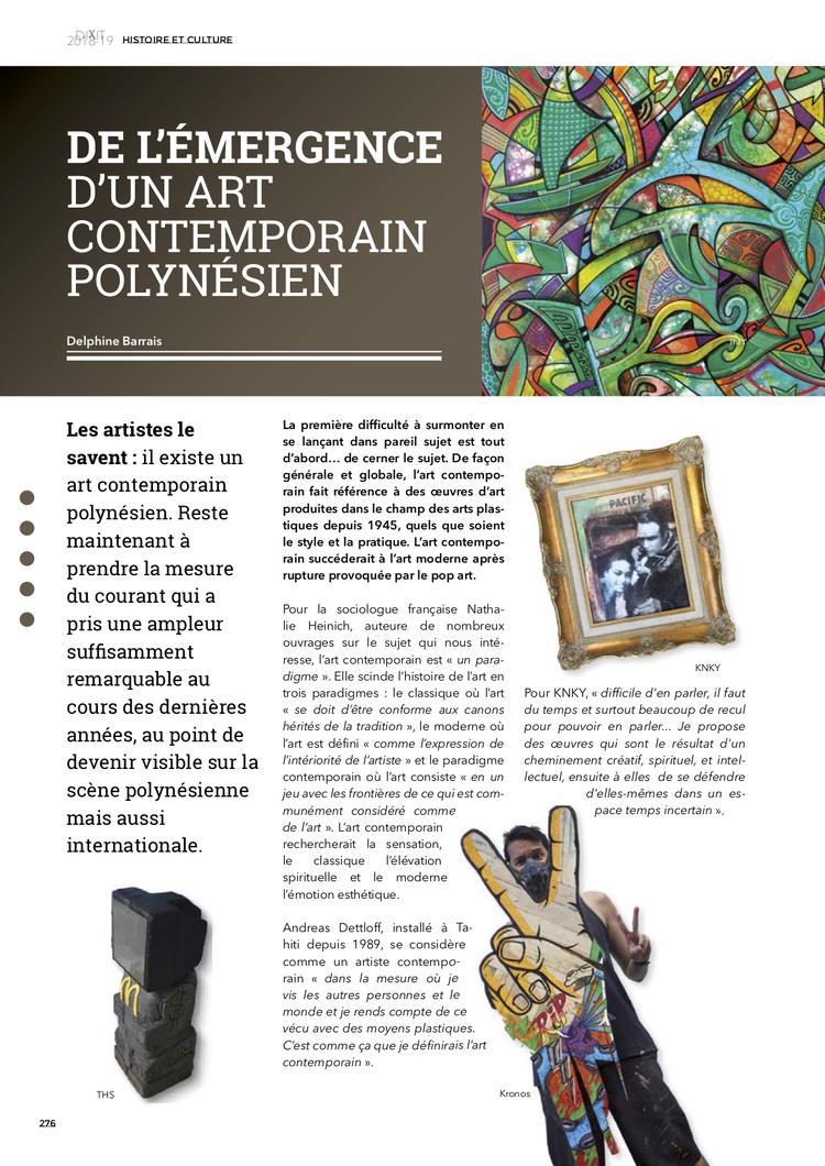 Art contemporain polynésien Dixit2018-19-2 - 1