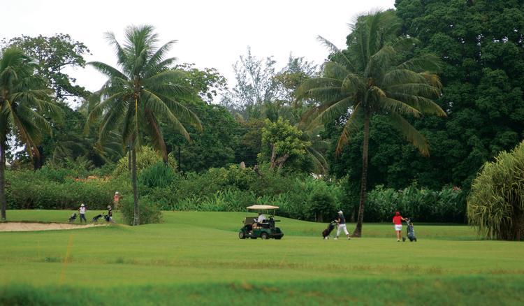 Le golf d'Atimaono. Ce practice, créé en 1970, offre un parcours de 18 trous accessible aux débutants comme aux plus confirmés. Il est reconnu internationalement pour la qualité de ses «fairways » et de ses « greens » ainsi que pour la beauté de son site
