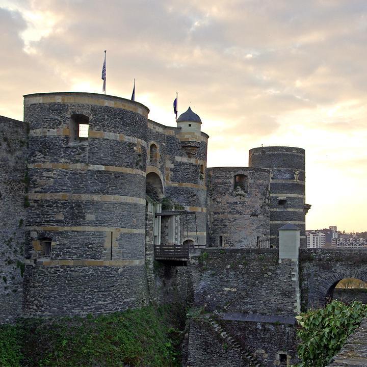 Château d'Angers en Anjou