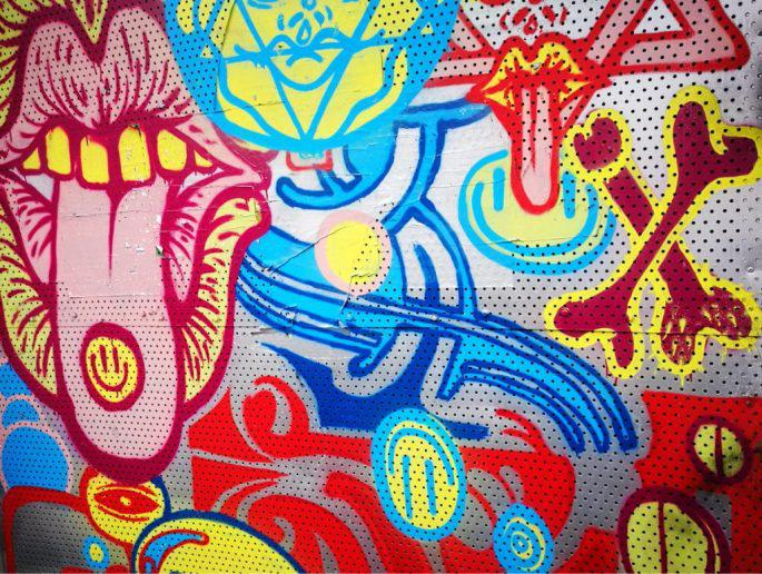 Birmingham Digbeth Graffiti Art 6