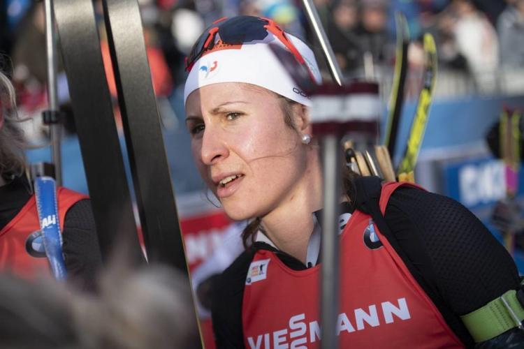 BIATHLON - 4e de la poursuite des Championnats d'Europe, Caroline Colombo dresse le bilan de ces championnats et de ses ambitions pour la fin de saison.