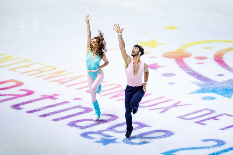 Gabriella Papadakis, Guillaume Cizeron, patinage artistique, patinage, danse sur glace, Grenoble, Grand Prix, ISU