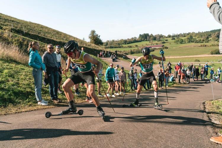 Hugo Lapalus, Irineu Esteve Altimiras, ski-roues, rollerski, Challenge Vincent Vittoz, Challenge National Vincent Vittoz, Nordic Mag, nordicmag