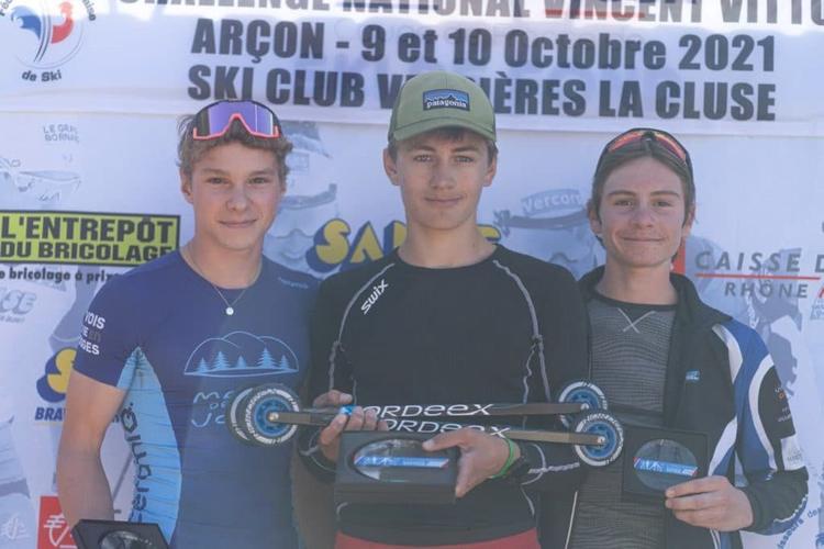 Arthur Pernel, Joachim Bunod, Even Rey, ski-roues, rollerski, Challenge Vincent Vittoz, Challenge National Vincent Vittoz, Nordic Mag, nordicmag