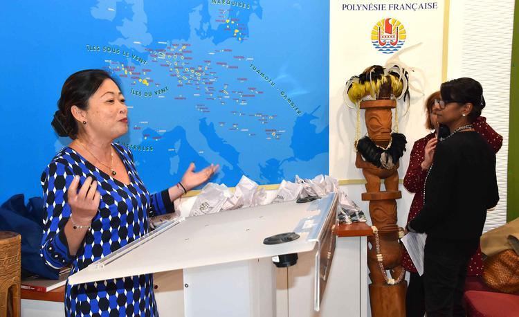 Caroline Tang, déléguée de la Polynésie à Paris ©Délégation de la Polynésie à Paris
