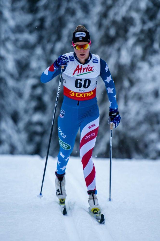 Sadie Maubet Bjornsen, ski de fond, ski, Ruka