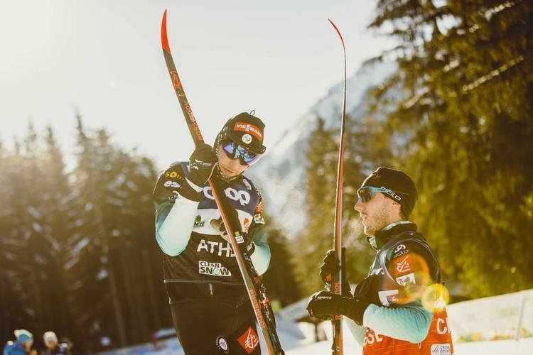 Adrien Backscheider, ski de fond