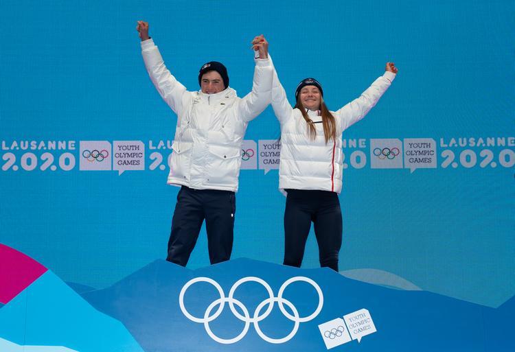 JOJ, Jeanne Richard, Mathieu Garcia, biathlon