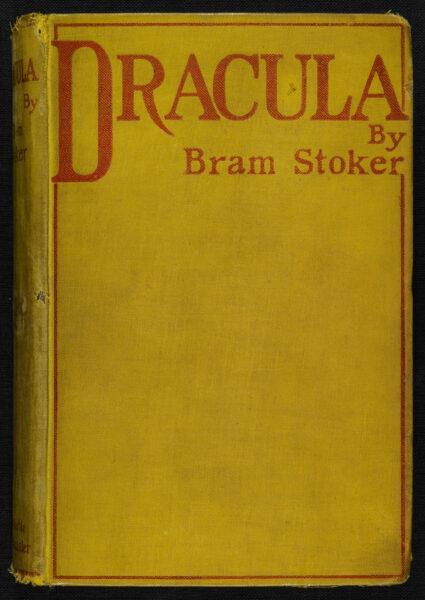 Dracula First Edition Bram Stoker